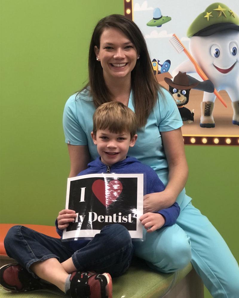 Dr. Amy Lewis & Patient